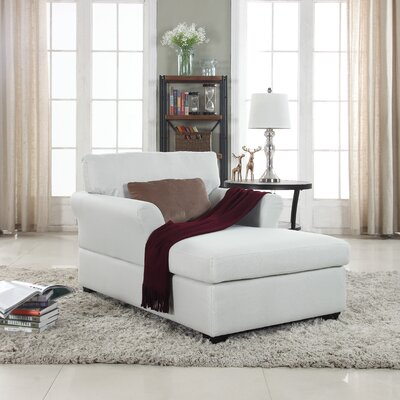 Champaign Chaise Lounge Upholstery: Beige