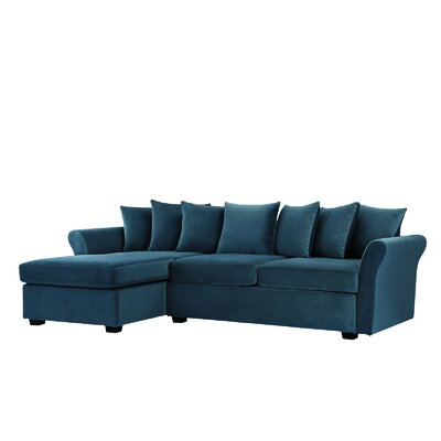 Sanders Sectional Upholstery: Blue