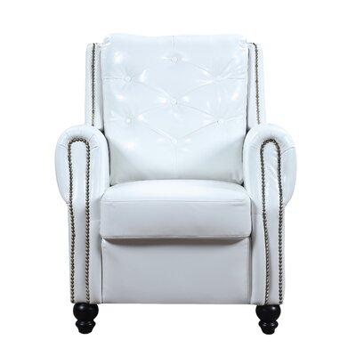Riddick Armchair Upholstery: White