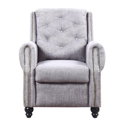 Hollain Armchair Upholstery: Gray