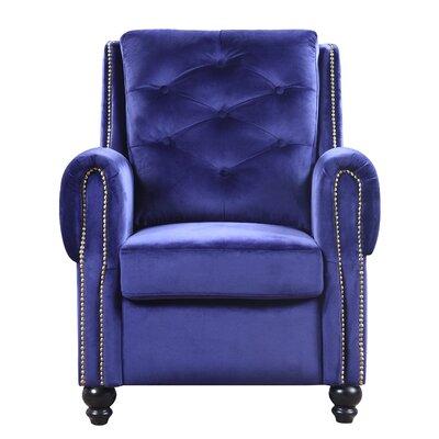 Sanders Armchair Upholstery: Navy
