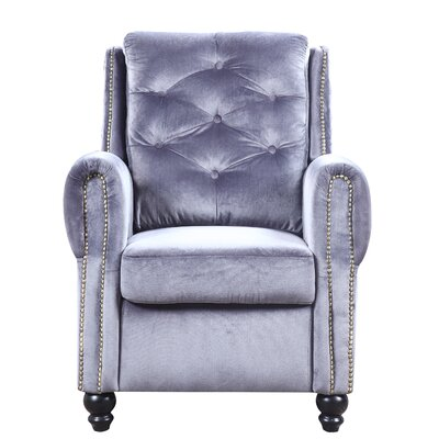 Sanders Armchair Upholstery: Gray