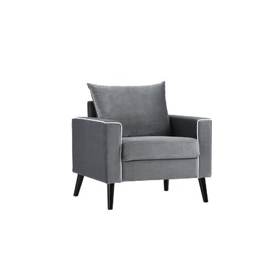 Portillo Velvet Armchair