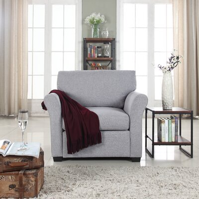Oglesby Armchair Upholstery: Light Gray