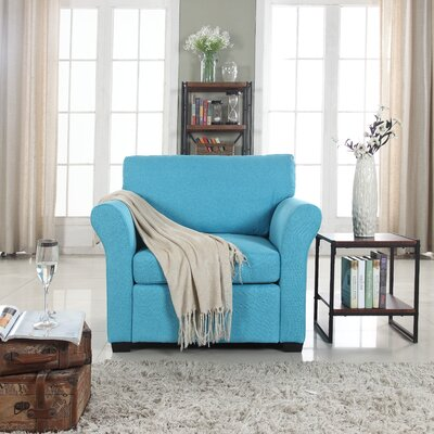 Oglesby Armchair Upholstery: Blue