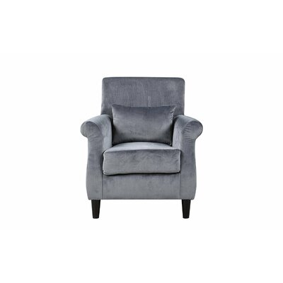 Robbins Classic Armchair Upholstery: Gray
