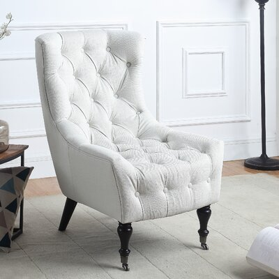 Rieger Classic  Wingback Chair Upholstery: Beige