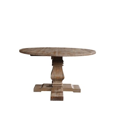 Alvar Round Kitchen Dining Table Color: Beige