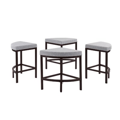 Trever Kitchen 5 Piece Dining Set Color: Gray