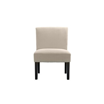 Lynnwood Sleek Side Chair Upholstery: Beige