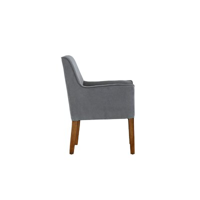 Lovill Sleek Armchair Upholstery: Gray
