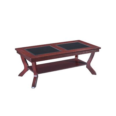 3 Piece Coffee Table Set Color: Red Oak