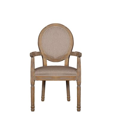 Jaelanie Distressed Room Upholstered Dining Chair