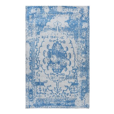 Stonehill Persian Distressed Blue Area Rug Rug Size: 8 x 10