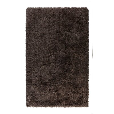 Caulfield Solid Brown Area Rug