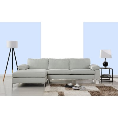 Manhasset Modern Large Sectional Upholstery: Beige