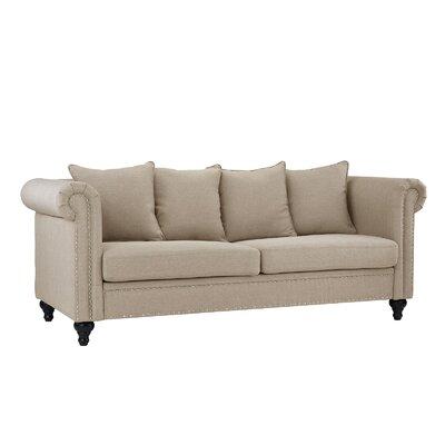 Blue Heron Classic Sofa Upholstery: Beige