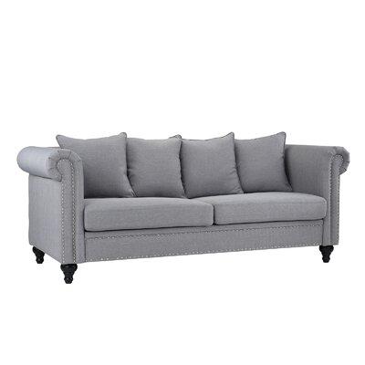 Blue Heron Classic Sofa Upholstery: Light Gray