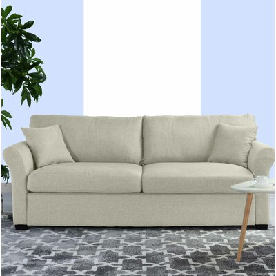 Lyndhurst Modern Classic Ultra Comfortable Sofa Upholstery: Beige