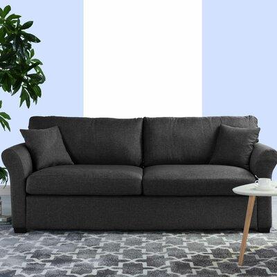 Lyndhurst Modern Classic Ultra Comfortable Sofa Upholstery: Dark Gray