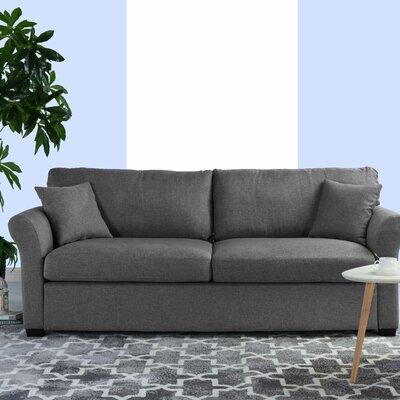 Lyndhurst Modern Classic Ultra Comfortable Sofa Upholstery: Light Gray