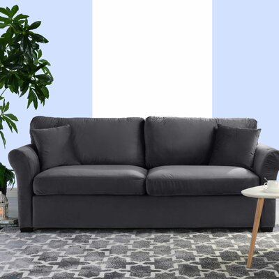 Lynnhaven Classic Modern Ultra Comfortable Sofa Upholstery: Gray