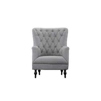 Boynton Armchair Upholstery: Light Gray
