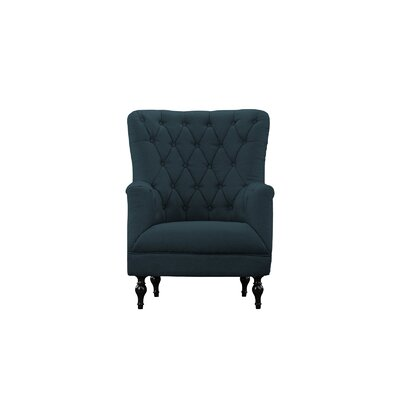 Boynton Armchair Upholstery: Gray Blue