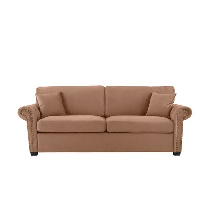 Boyster Sofa Upholstery: Brown