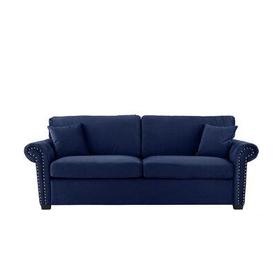 Boyster Sofa Upholstery: Navy