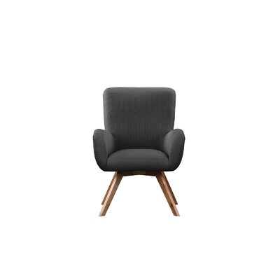 Wahl Armchair Upholstery: Dark Gray