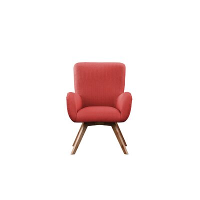 Wahl Armchair Upholstery: Red
