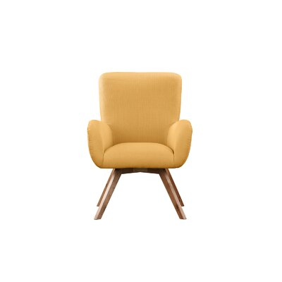 Wahl Armchair Upholstery: Yellow