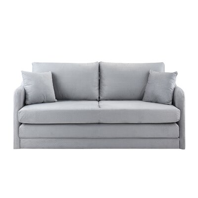 Alverez Convertible Sleeper Sofa Upholstery: Light Gray