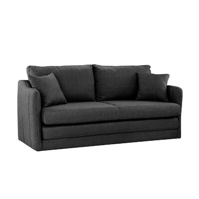 Alverez Convertible Sleeper Sofa Upholstery: Dark Gray