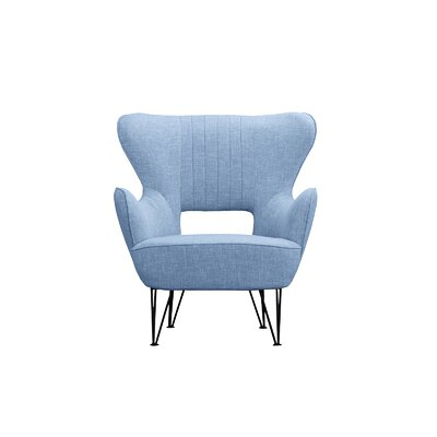 Alverson Armchair Upholstery: Blue