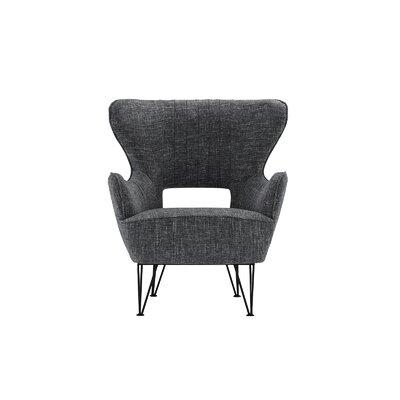 Alverson Armchair Upholstery: Dark Gray