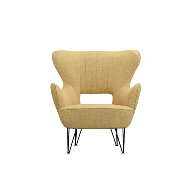 Alverson Armchair Upholstery: Yellow