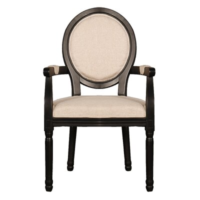 Raylen Distressed Room Upholstered Dining Chair