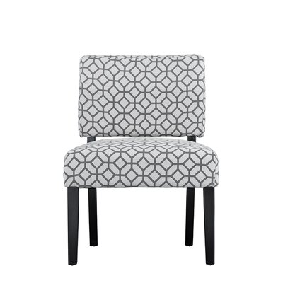 Bal Contemporary Sleek Linen Side Chair