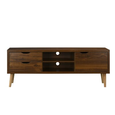 Wakeman 59 TV Stand Color: Brown