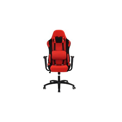 Minton Ergonomic Office Chair Upholstery: Red
