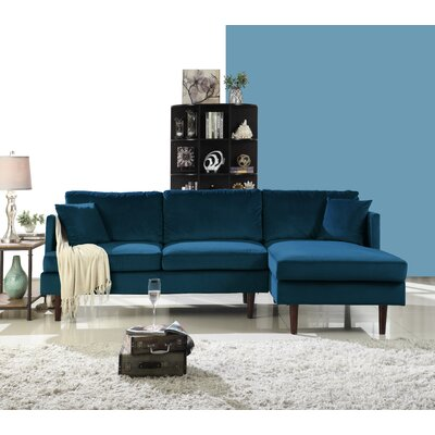 Eide Sectional Upholstery: Dark Blue