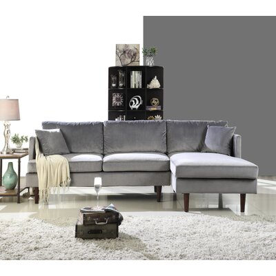 Eide Sectional Upholstery: Gray
