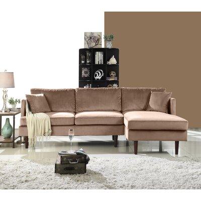 Eide Sectional Upholstery: Hazelnut