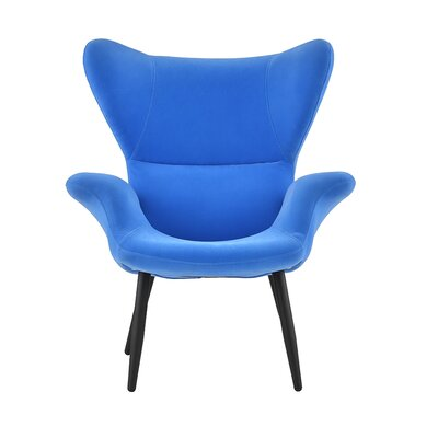 Justinich Contemporary Lounge Chair Upholstery: Sky Blue