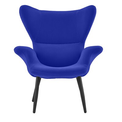 Justinich Contemporary Lounge Chair Upholstery: Royal Blue