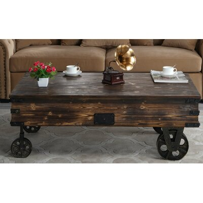 Bradwell Country Style Wooden Coffee Table