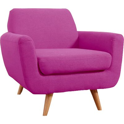 Armchair Upholstery: Purple