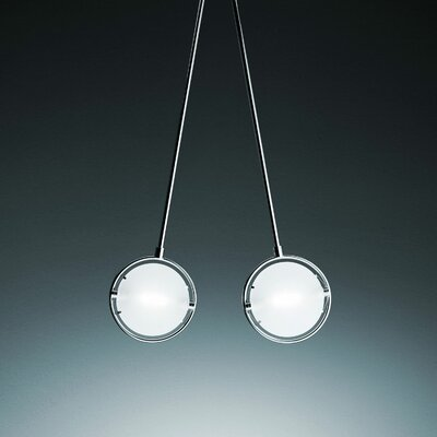 Nobi Hanging Lamp Finish: Satin nickel, Size / Reflector: 19.3 H x 9.1 Dia / With Reflector